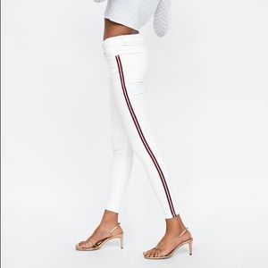 Jeans With Side Stripes